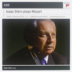 Produktbilde for Isaac Stern - Plays Mozart (4CD)