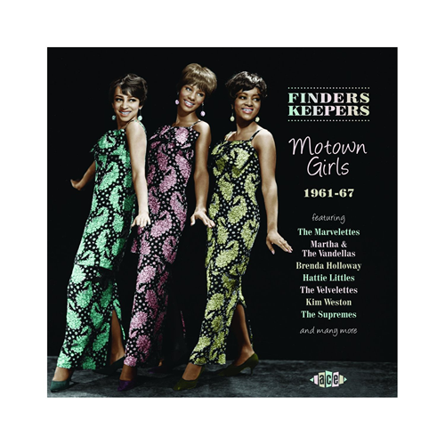 Finders Keepers - Motown Girls 1961-67 (CD)