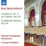 Rachmaninov: Symphony No.3 / Symhonic Dances Op.45 (CD)