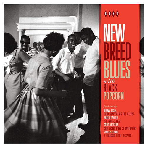 New Breed Blues With Black Popcorn (CD)