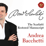 Andrea Bacchetti - The Restored Scarlatti Manuscript (CD)