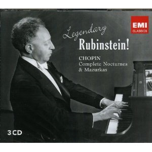 Arthur Rubinstein - Chopin: Legendary Rubinstein (3CD)
