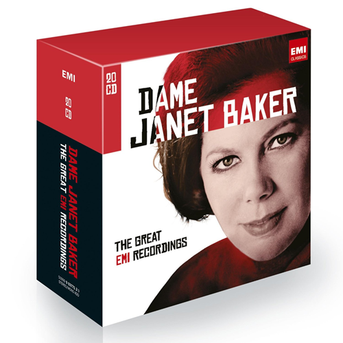 Janet Baker - The Great EMI Recordings - Limited Edition (20CD)