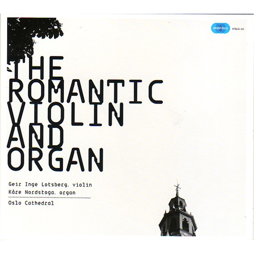The Romantic Violin And Organ (CD)