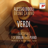 Verdi: Fantasia - Transcriptions By Camillo Sivori (CD)