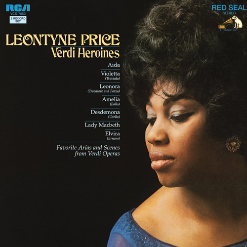 Leontyne Price - Verdi Heroines: 15 Great Arias And Scenes From 8 Operas (2CD)