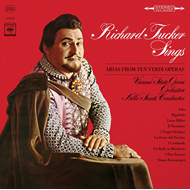 Produktbilde for Richard Tucker - Sings Arias From Ten Verdi Operas (CD)