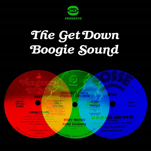 The Get Down Boogie Sound (CD)