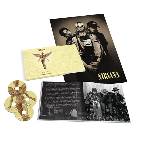 In Utero - 20th Anniversary Super Deluxe Box Edition (3CD + 1DVD)