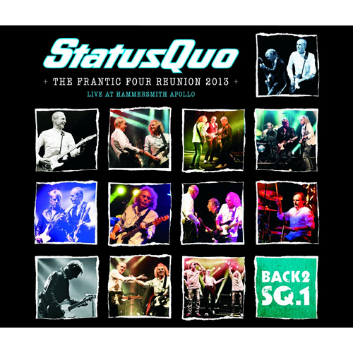 Back 2 SQ1: The Frantic Four Reunion 2013 - Live At Hammersmith (2CD)