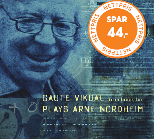 Gaute Vikdal - Plays Arne Nordheim (CD)