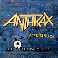 Produktbilde for Aftershock - The Island Years (UK-import) (4CD)