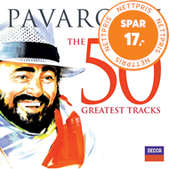 Produktbilde for Luciano Pavarotti - The 50 Greatest Tracks (2CD)