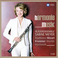 Produktbilde for Sabine Meyer - Harmoniemusik: Chamber Music (8CD)