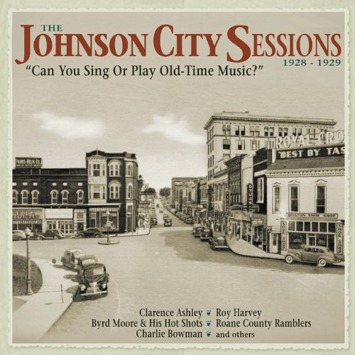 The Johnson City Sessions 1928-1929 (4CD+Bok)