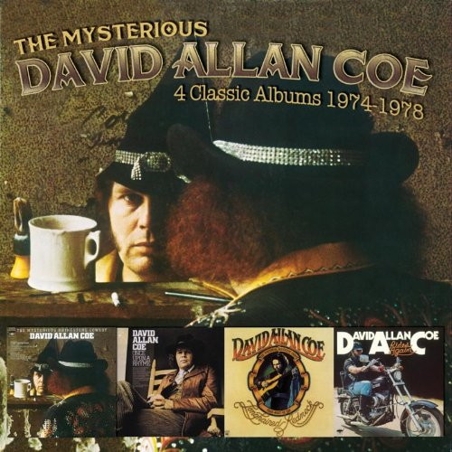 The Mysterious David Allan Coe: 4 Classic Albums 1974-1978 (2CD)