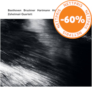 Produktbilde for Zehetmair Quartet - Beethoven, Bruckner, Hartmann, Holliger (2CD)