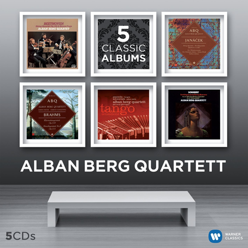 Alan Berg Quartet - 5 Classic Albums (5CD)