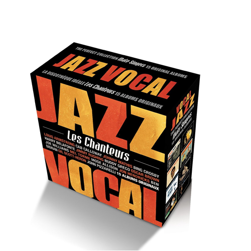 Jazz - The Perfect Vocal Jazz Collection: Male Singers (15CD)
