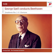George Szell - Conducts Beethoven Symphonies & Overtures (5CD)