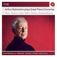 Arthur Rubinstein - Plays Great Piano Concertos (11CD)