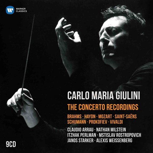 Carlo Maria Giulini - The Concerto Recordings (9CD)