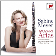 Produktbilde for Sabine Meyer - Mozart: Arias (CD)