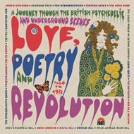 Love, Poetry And Revolution: A Journey Through The British Psychedelic And Underground Scenes 1966 To 1972 (3CD)