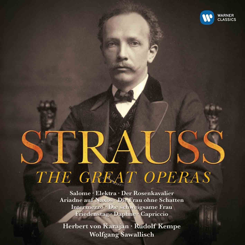Strauss,R: The Great Operas (22CD)