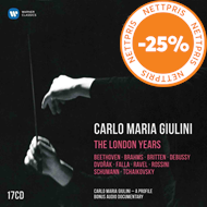 Produktbilde for Carlo Maria Giulini - The London Years (17CD)