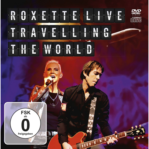 Live - Travelling The World (m/DVD) (CD)