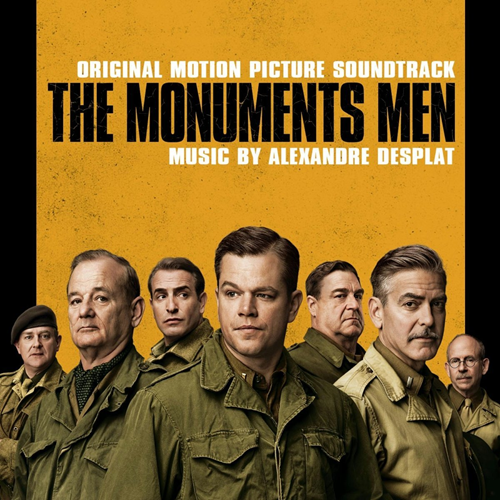 The Monuments Men (CD)