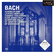 Produktbilde for Bach: Schübler and Leipzig chorales/Canon (2CD)