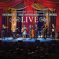 Steve Martin And The Steep Canyon Rangers Featuring Edie Brickell Live (m/DVD) (CD)