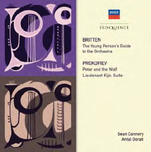 Britten / Prokofiev: Young Person's Guide To The Orchestra / Peter And The Wolf (CD)