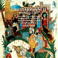 Produktbilde for Jordi Savall - Orient-Occident II: A Tribute To Syria (SACD-Hybrid)