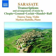 Sarasate: Transcriptions And Arrangements (CD)