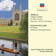 Howells / Vaughan Williams: Choral Music (CD)