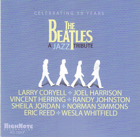 Celebrating 50 Years Of The Beatles: A Jazz Tribute (CD)