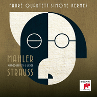 Strauss / Mahler: Piano Quartets & Lieder (CD)