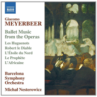 Produktbilde for Meyerbeer: Ballet Music From The Operas (CD)