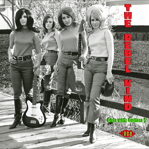 The Rebel Kind - Girls With Guitars Vol. 3 (CD)