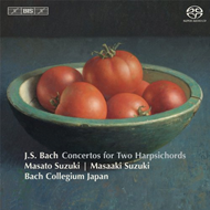 Bach J.S: Concertos For Two Harpsichords (SACD - Hybrid)