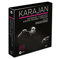 Produktbilde for Herbert Von Karajan - The Russian Orchestral Recordings Nov. 1949 - Nov. 1960 (7CD)
