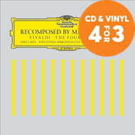 Produktbilde for Recomposed By Max Richter - Vivaldi: The Four Seasons (m/DVD) (CD)