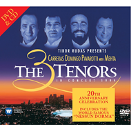 Produktbilde for The Three Tenors In Concert 1994 - 20th Anniversary Edition (m/DVD) (CD)