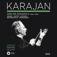 Herbert Von Karajan - And His Soloists II 1970-1984 (10CD)