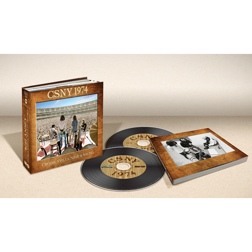 CSNY 1974 - Deluxe Edition (Pure Audio Blu-ray + DVD)