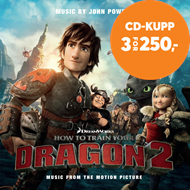 Produktbilde for How To Train Your Dragon 2 (CD)