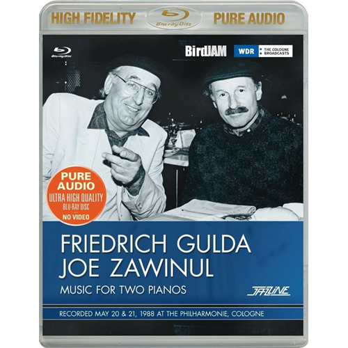 Music For Two Pianos: 1988, Philharmonie Cologne (Pure Audio Blu-ray)